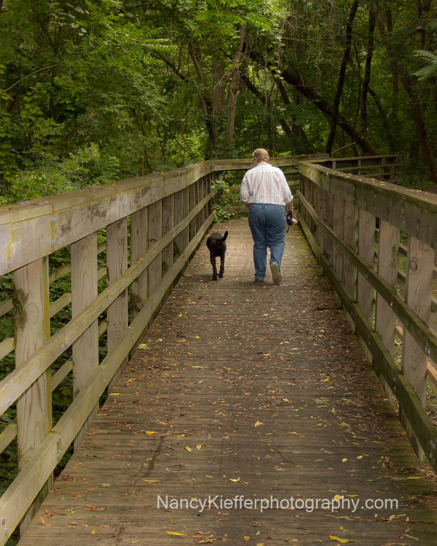 walk, leading lines, bridge