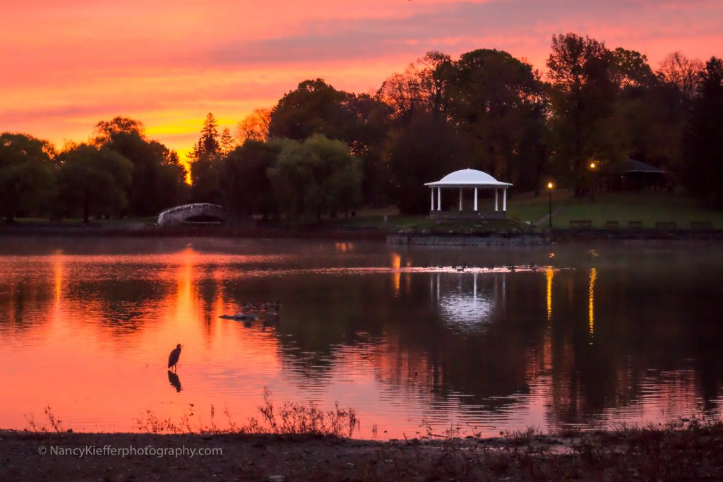 Rosy Dawn at Upper Onondaga Park