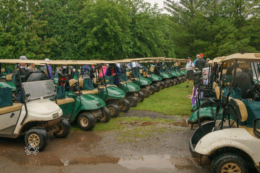 on par for pups golf tournament