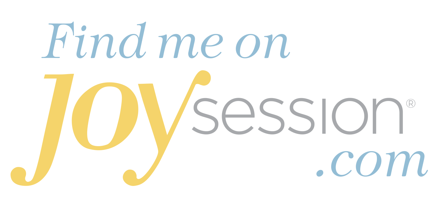 Find me on joy session.com logo